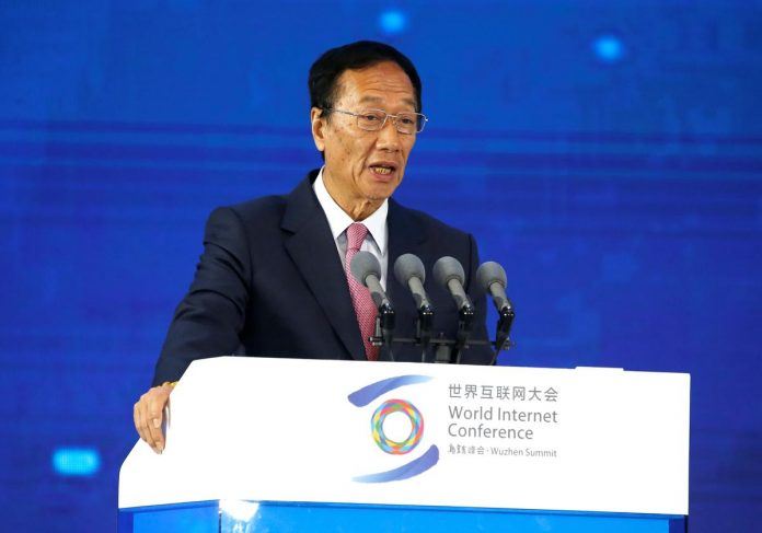 Exclusive: Foxconn chairman Gou aims to step down to pave way for younger talent