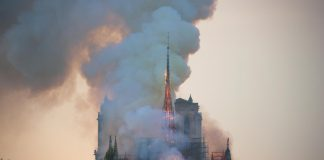 Paris' Notre-Dame Cathedral engulfed by fire