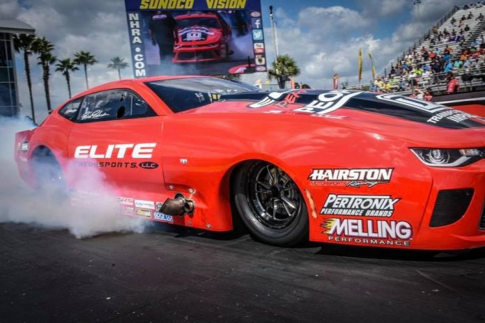 ERICA ENDERS GRABS NHRA PRO MOD SPEED RECORD AT SPRINGNATIONALS