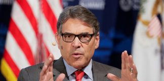 Energy Secretary Perry planning to leave Trump administration: source