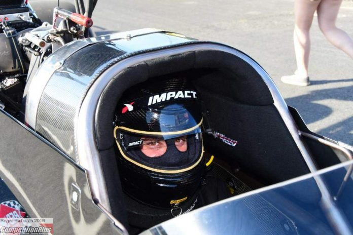 MASSEY RETURNS TO TOP FUEL, FOR NOW
