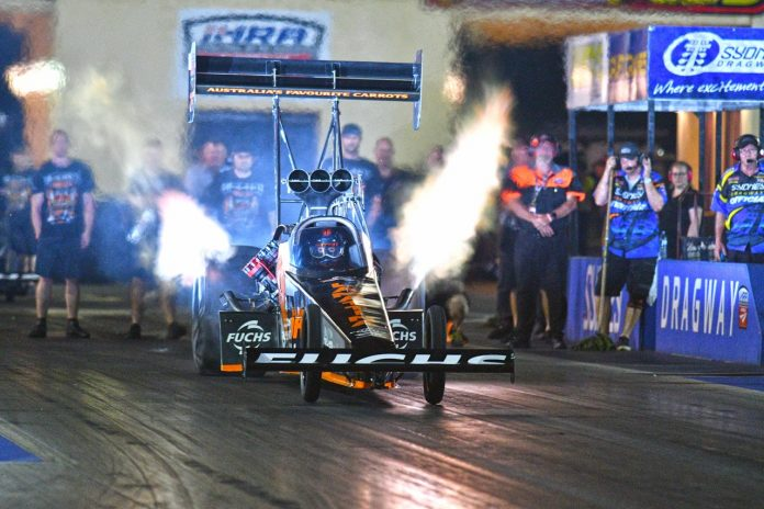 FULL HOUSE FOR TOP FUEL AT SYDNEY NITRO THUNDER MEETING