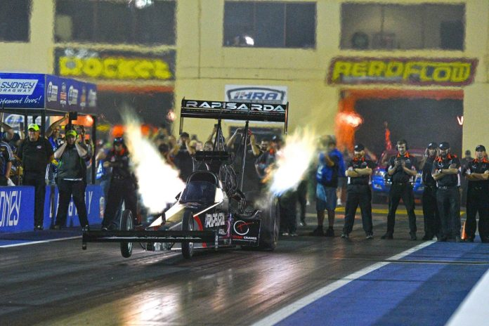 ASHLEY SANFORD CHASING MISSION NOT IMPOSSIBLE AT SYDNEY DRAGWAY
