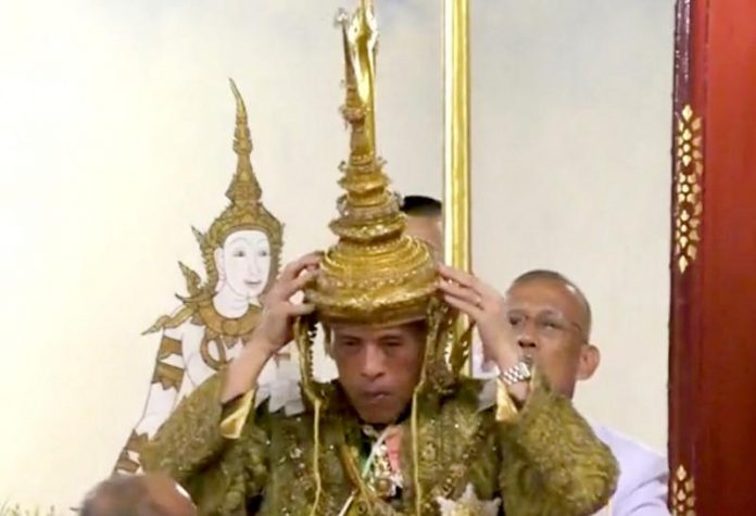 'I shall reign with righteousness': Thailand crowns king in ornate ceremonies