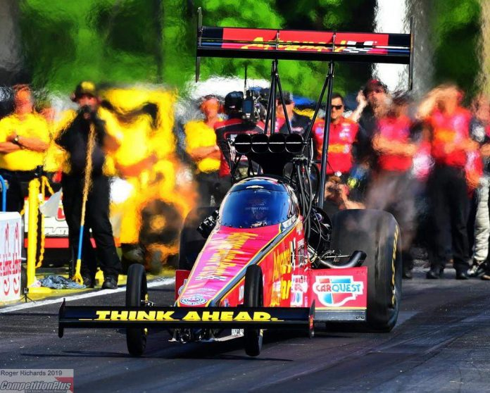 BRITTANY FORCE IS TOP FUEL'S PROVISIONAL NO. 1 AT SOUTHERN NATIONALS