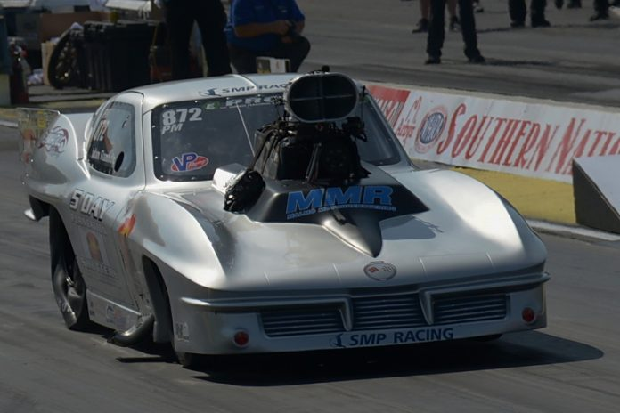 FLAMHOLC FACES UPHILL BATTLE IN NHRA PRO MOD