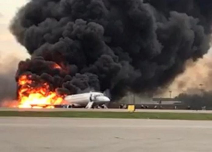 Forty-one reported killed after Russian passenger plane crash-lands in Moscow