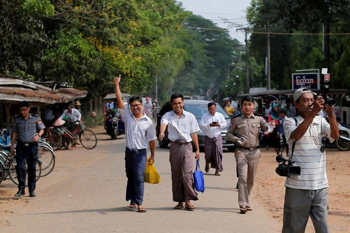 Reactions to release of Reuters journalists from Myanmar prison