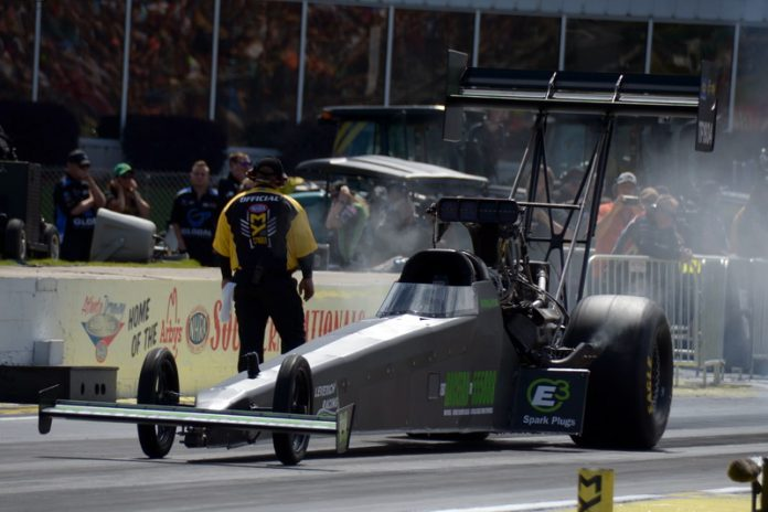 WORM INCHES CLOSER TO FINDING TOP FUEL SUCCESS