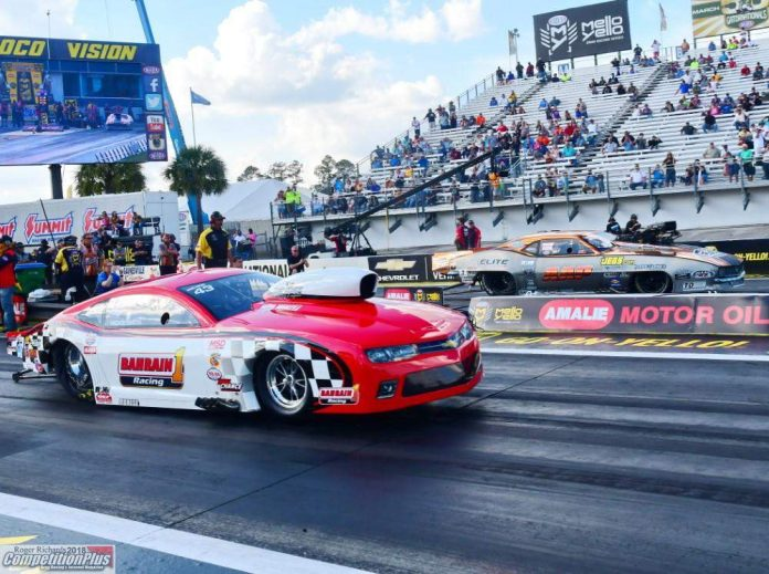 RICKIE SMITH BACK IN A NITROUS CAR, FOR NOW