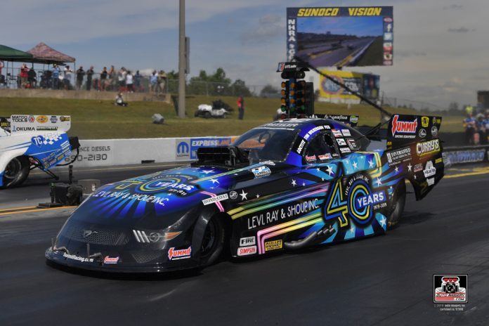 WILKERSON UNVEILS NEW MUSTANG AT NHRA VIRGINIA NATIONALS