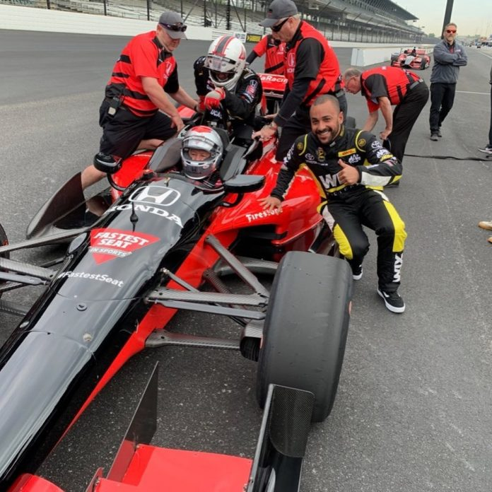 INDY WINNER J.R. TODD HAS A DIFFERENT INDY EXPERIENCE