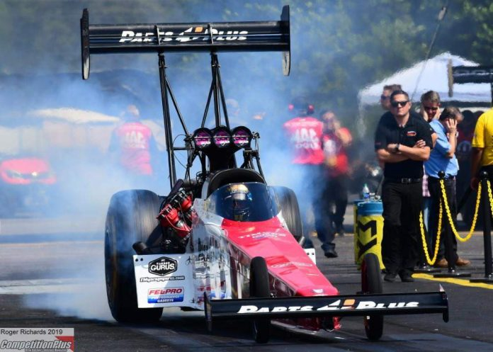 MILLICAN 'PLEASANTLY SURPRISED' WITH PROVISIONAL NO.1 TOP FUEL QUALIFYING EFFORT