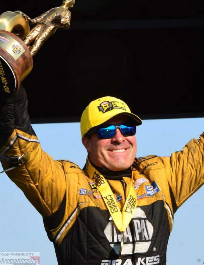 S. TORRENCE, CAPPS, BUTNER AND HINES WIN AT THE VIRGINIA NHRA NATIONALS