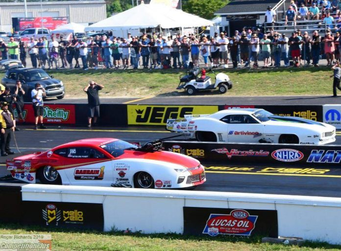 FRIGO VICTORIOUS IN PRO MOD AT THE VIRGINIA NHRA NATIONALS
