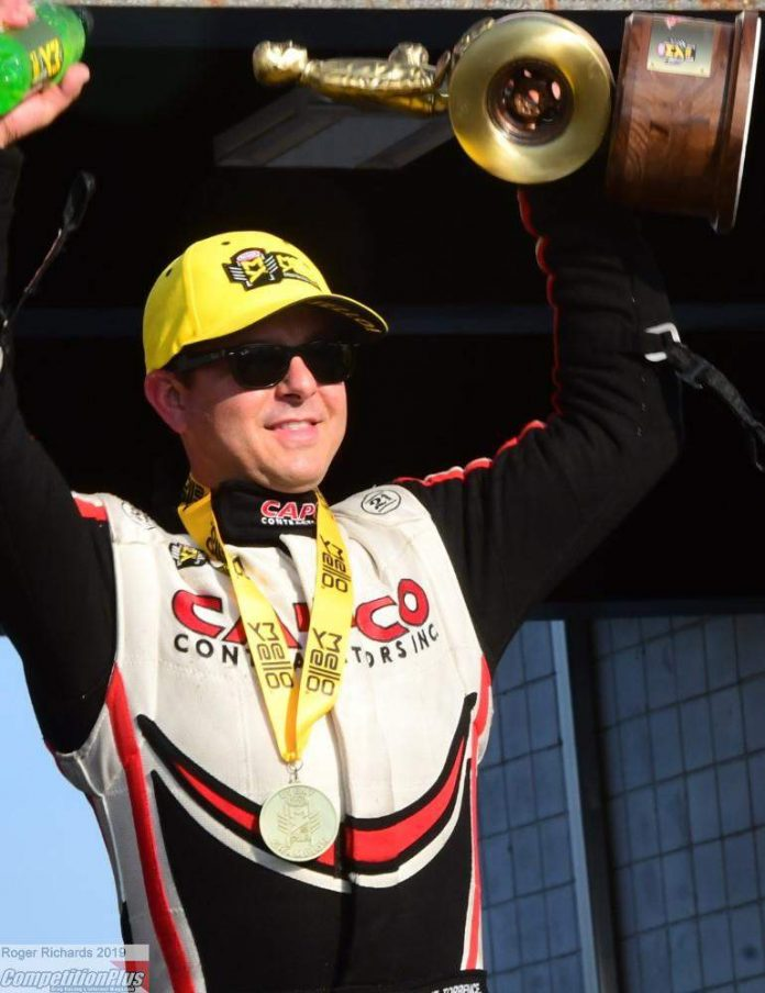 STEVE TORRENCE HITS ANOTHER OUT OF THE PARK, WINNING RICHMOND