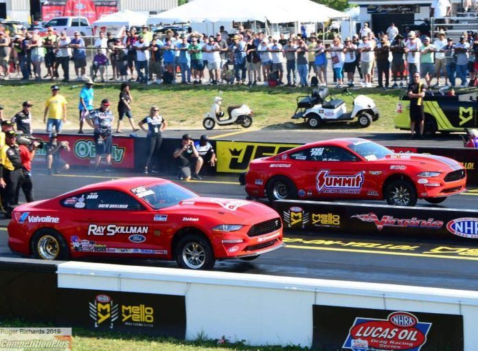 SPORTSMAN RESULTS FROM 2019 NHRA VIRGINIA NATIONALS