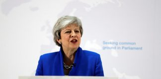 Britain's Theresa May begs Labour to support her 'last chance' Brexit compromise