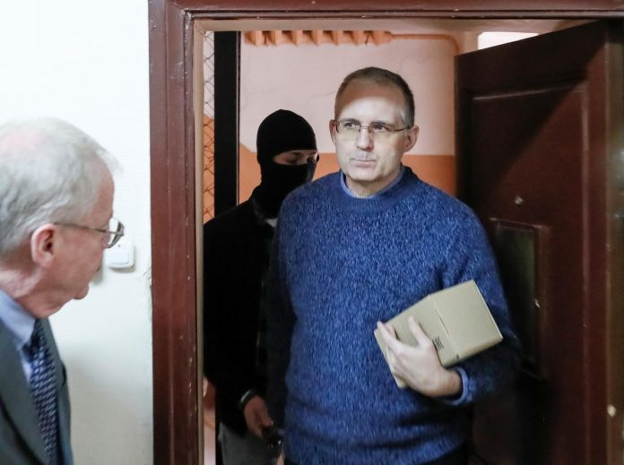 Ex-U.S. marine held in Russia on spying charge says he's being threatened: TASS