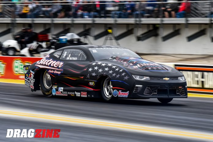 Butner Back To Give Fits To Rest of Pro Stock Class