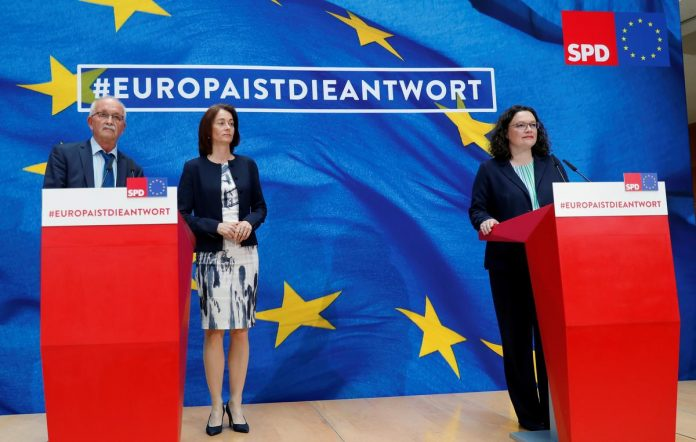German's SPD to review coalition strategy after vote rout