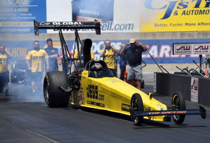 COUGHLIN RACES TO NHRA DIV. 1 RUNNER-UP FINISH
