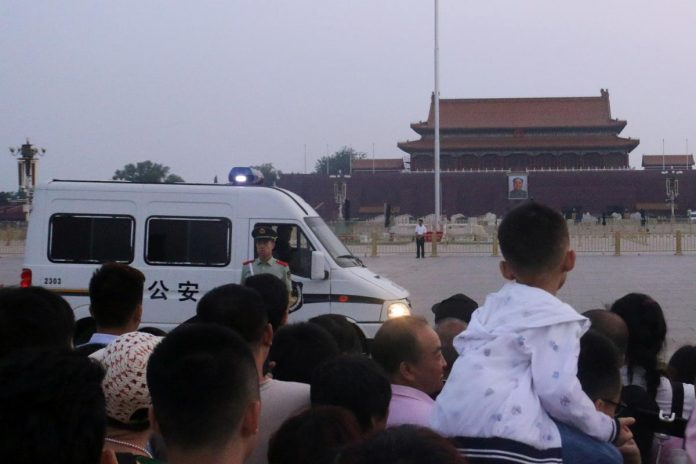 China tightens security around Tiananmen on anniversary of crackdown