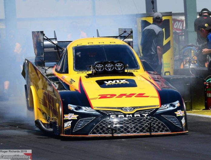 S. TORRENCE AND TODD CLINCH NO. 1 QUALIFYING POSITIONS AT NHRA HEARTLAND NATIONALS