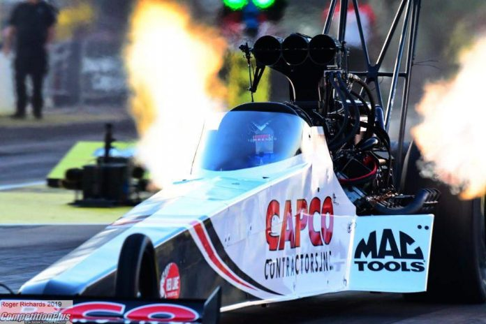 TORRENCE KEEPS ROLLING, QUICKEST FRIDAY AT HEARTLAND NATS