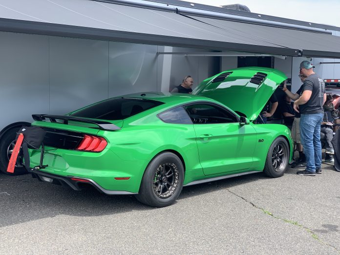 Brian Devilbiss Sets Record in Evolution Performance Mustang