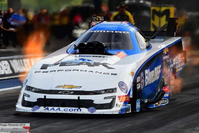 J. FORCE AND KALITTA PROVISIONAL QUALIFYING LEADERS AT THE NHRA THUNDER VALLEY NATIONALS