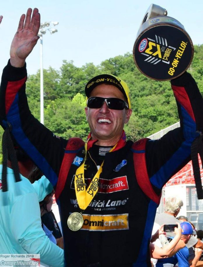 AFTER WINNING BRISTOL, BOB TASCA SAYS THE BEST IS YET TO COME