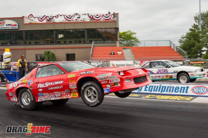 Heavy Rain Cause A Removal Of Sportsman Racing At NHRA Norwalk Event