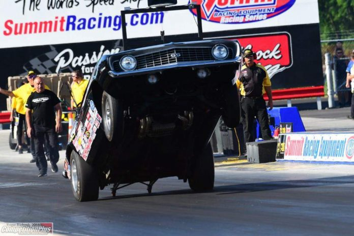 RAIN FORCES NHRA TO REMOVE SOME SPORTSMAN CATEGORIES FROM NORWALK EVENT