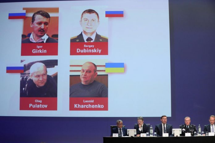 Russians, Ukrainian to face murder charges over downing of Flight MH17