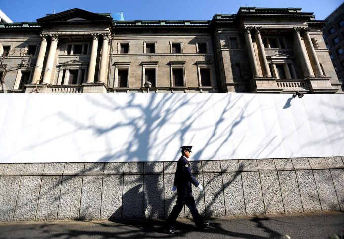 Bank of Japan holds fire on policy, warns of heightening global risks