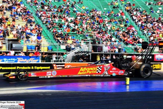 BRITTANY FORCE LEADS TOP FUEL AFTER FIRST DAY OF QUALIFYING AT NORWALK
