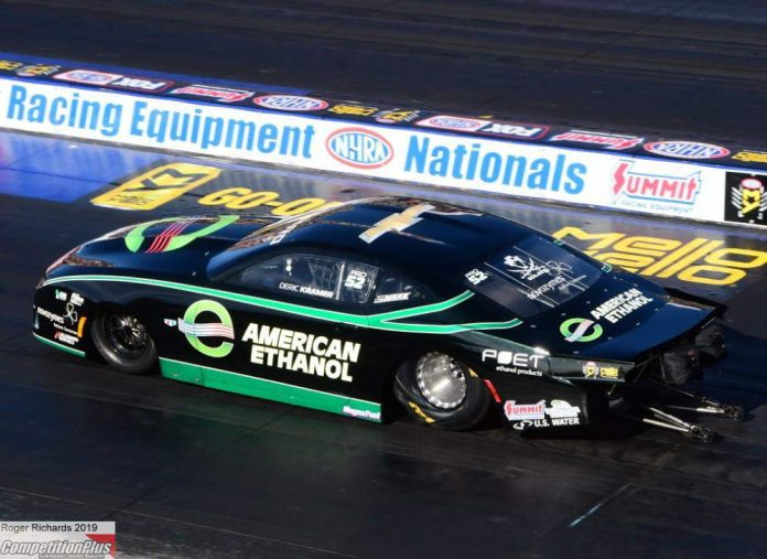 KRAMER TAKES THE NO. 1 QUALIFYING SPOT IN PRO STOCK AT NORWALK
