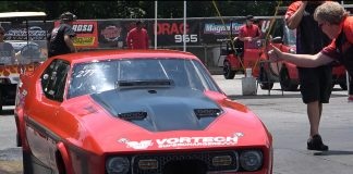 Terry Leggett Works With Vortech In PDRA Pro Boost Class