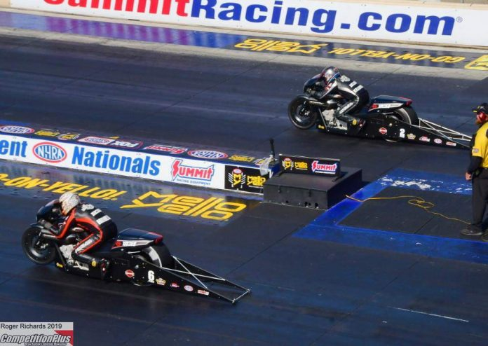 HINES SURVIVES TRICKY AFTERNOON WITH WIN IN ALL-HARLEY FINAL