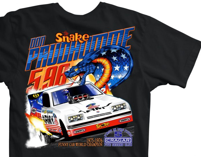 WIN A VINTAGE DON PRUDHOMME T-SHIRT