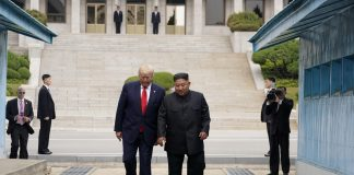 Trump meets North Korea's Kim on DMZ between the two Koreas