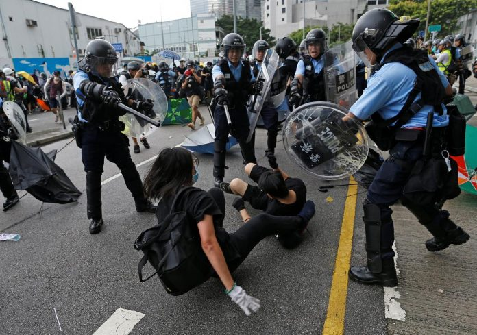 Hong Kong braces for annual handover rally as fresh protests erupt