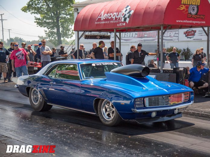 Van Geibel's Camaro Sets Half-Mile Records