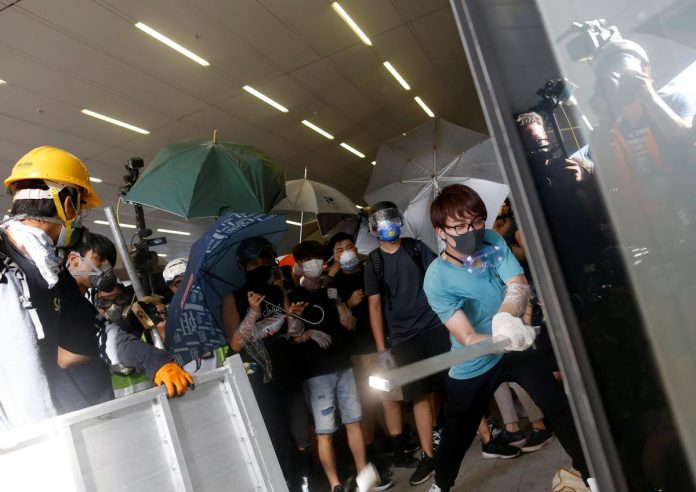 China's outrage over Hong Kong violence may prompt tighter embrace