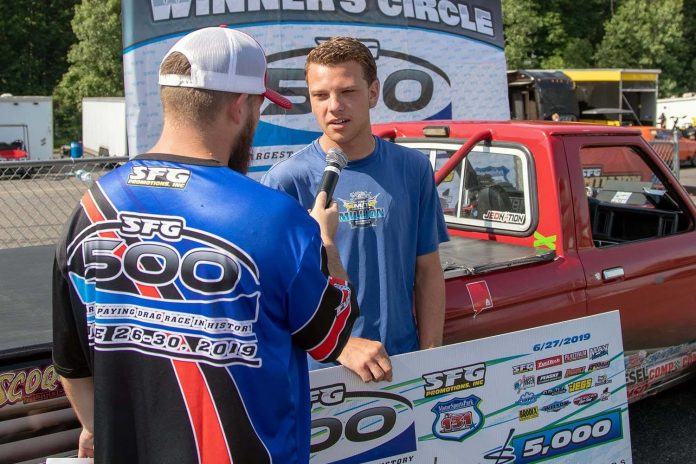 19-Year-Old Gage Burch Wins Drag Racing's Largest-Ever Payday