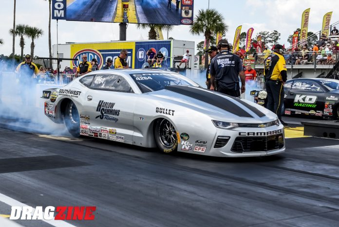 Improving McGaha Finds Positives In Potential Negatives During Pro Stock Quest