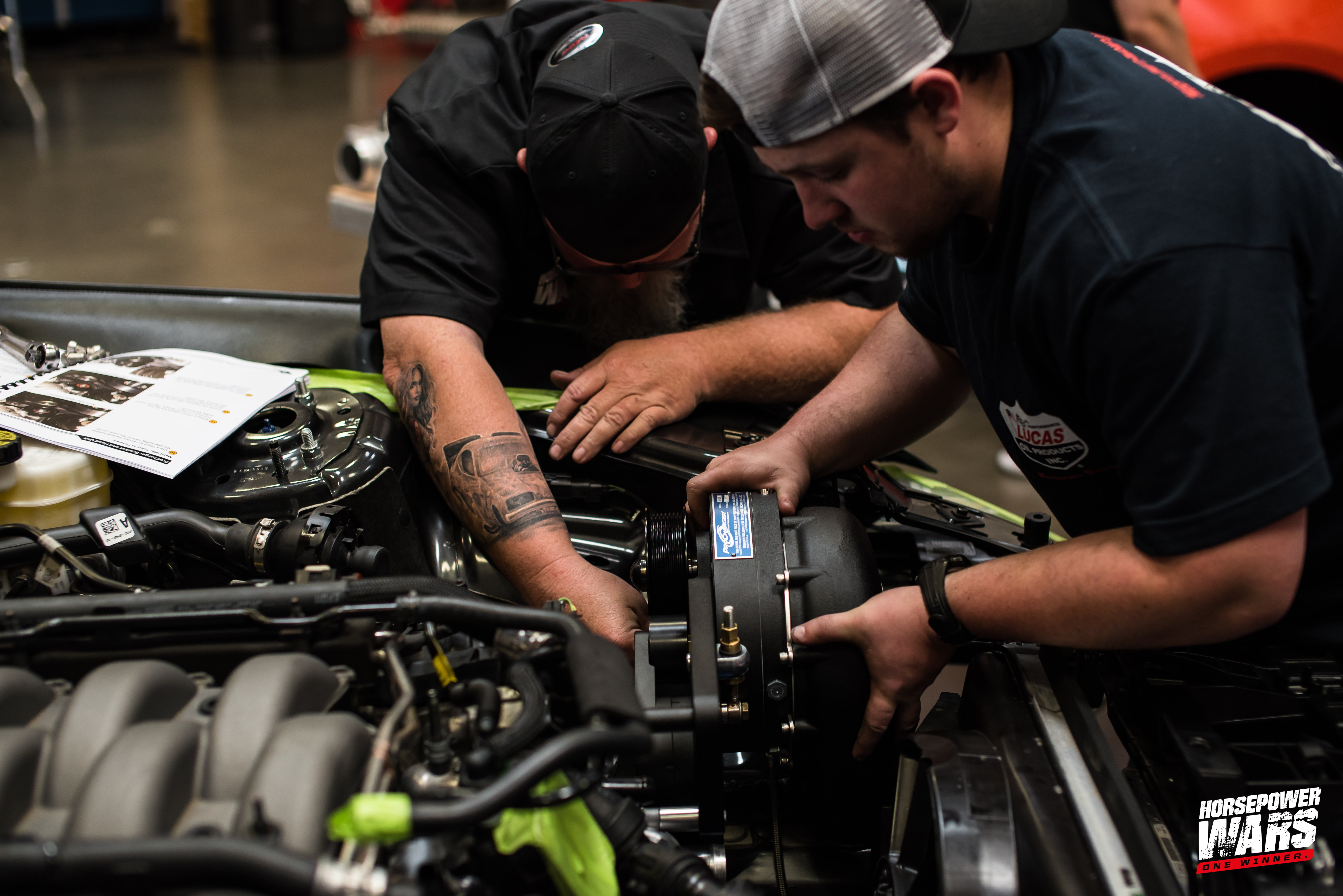 ProCharger Installation & Dyno Tuning   Racers Warehouse News