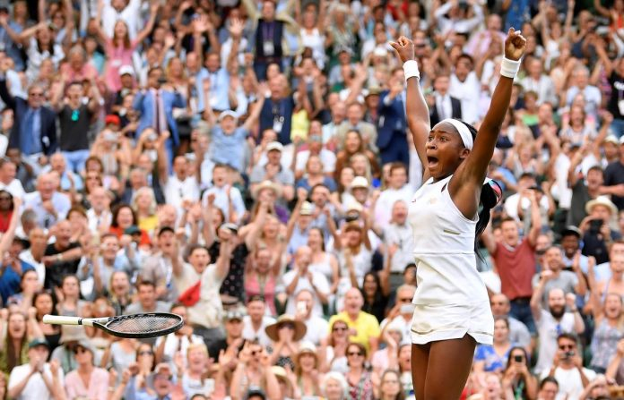 Teenager Gauff digs deep to reach Wimbledon fourth round