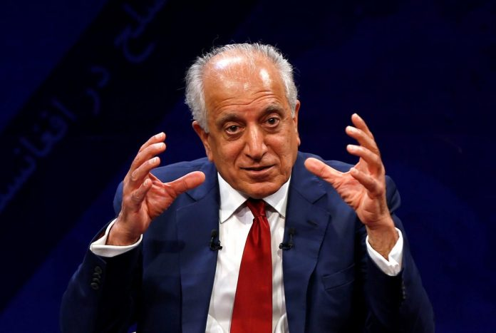 U.S., Taliban peace talks 'most productive session': envoy Khalilzad